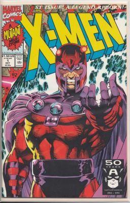 X Men 1st Issue A Legend Reborn Oct 1991 Magnet Vol 1 Comics Comic Books Marvel Comic Books
