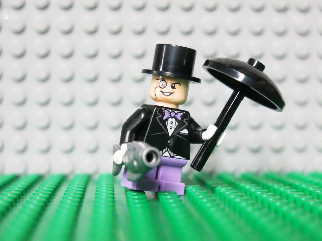 Lego - The Penguin is an enemy of Batman's and a chief crime boss ...