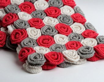 This listing is for a crochet pattern, instructions on how to crochet your own blanket. This is not a finished blanket.    This pattern includes