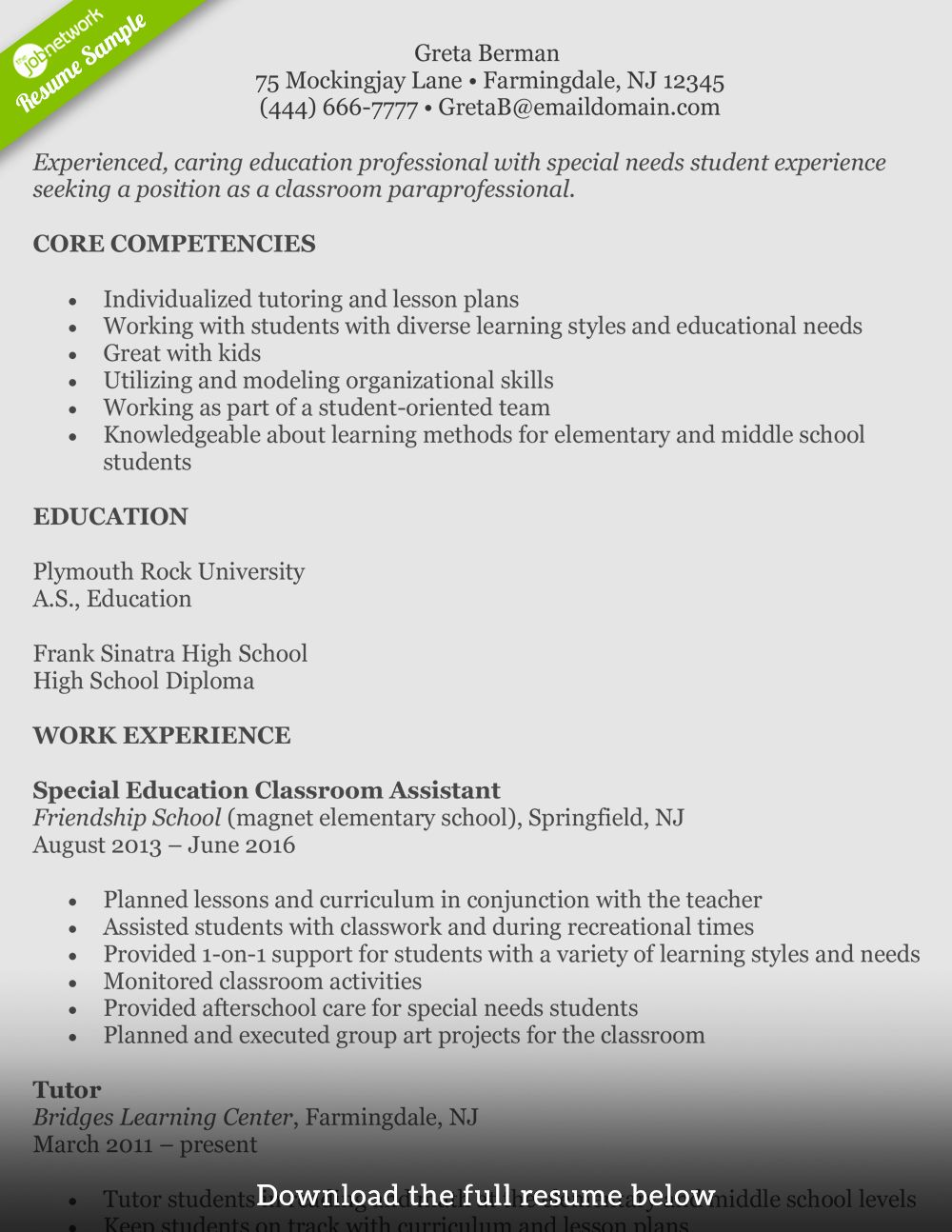 First Time assistant Principal Resume Lovely How to Write