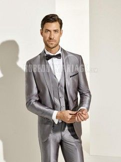 437db5f9f06d Costume homme pour mariage pas cher collection 2016 en satin Mon Cheri,  Wedding Suits,