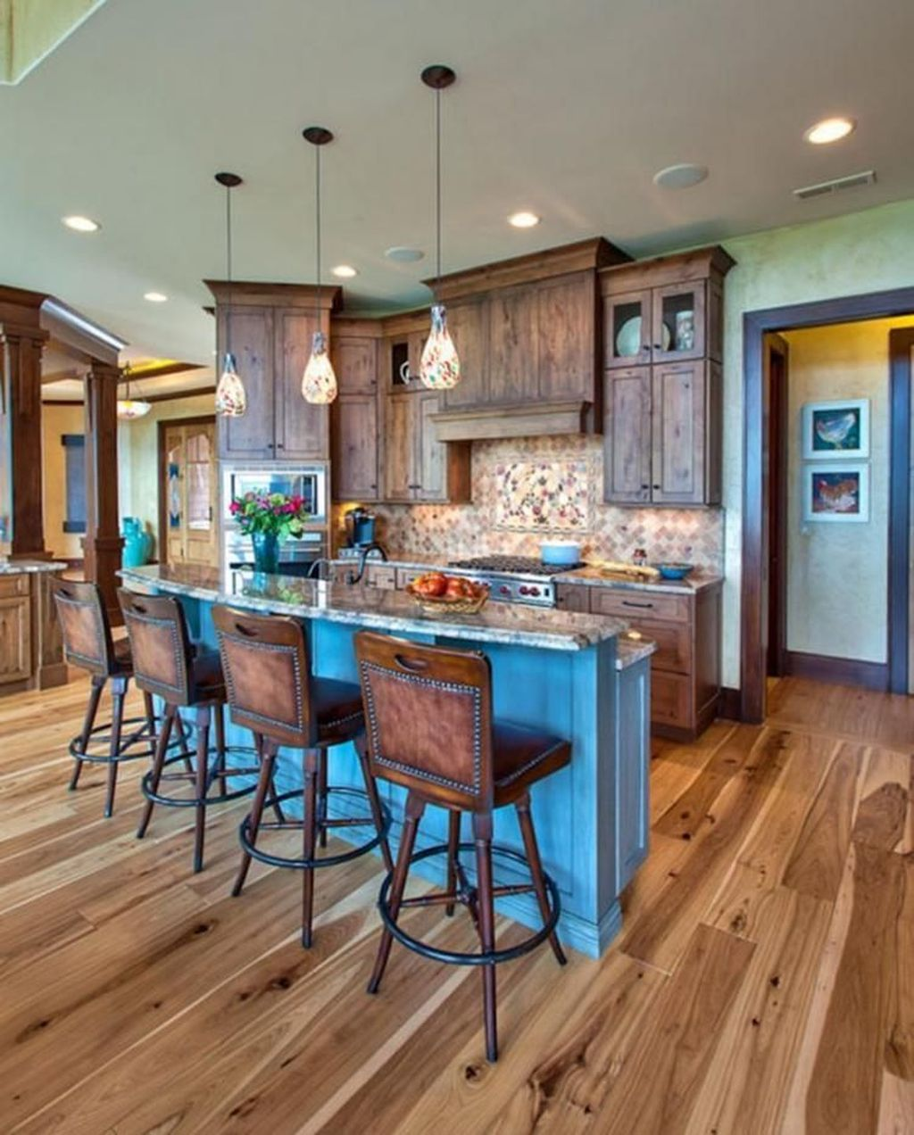 42 lovely rustic western style kitchen decorations ideas western kitchen decor country house on kitchen decor themes rustic id=59339