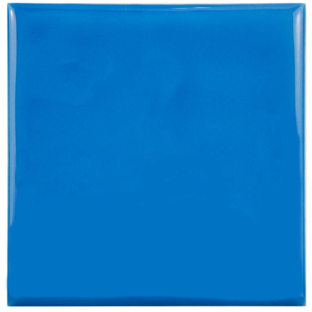 Merola tile twist square blue sky 3 34 in x 3 34 in ceramic wall merola tile twist square blue sky 3 34 in x 3 dailygadgetfo Images