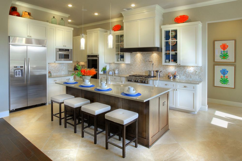 Drees Model Home Gourmet Kitchen In Sweetwater