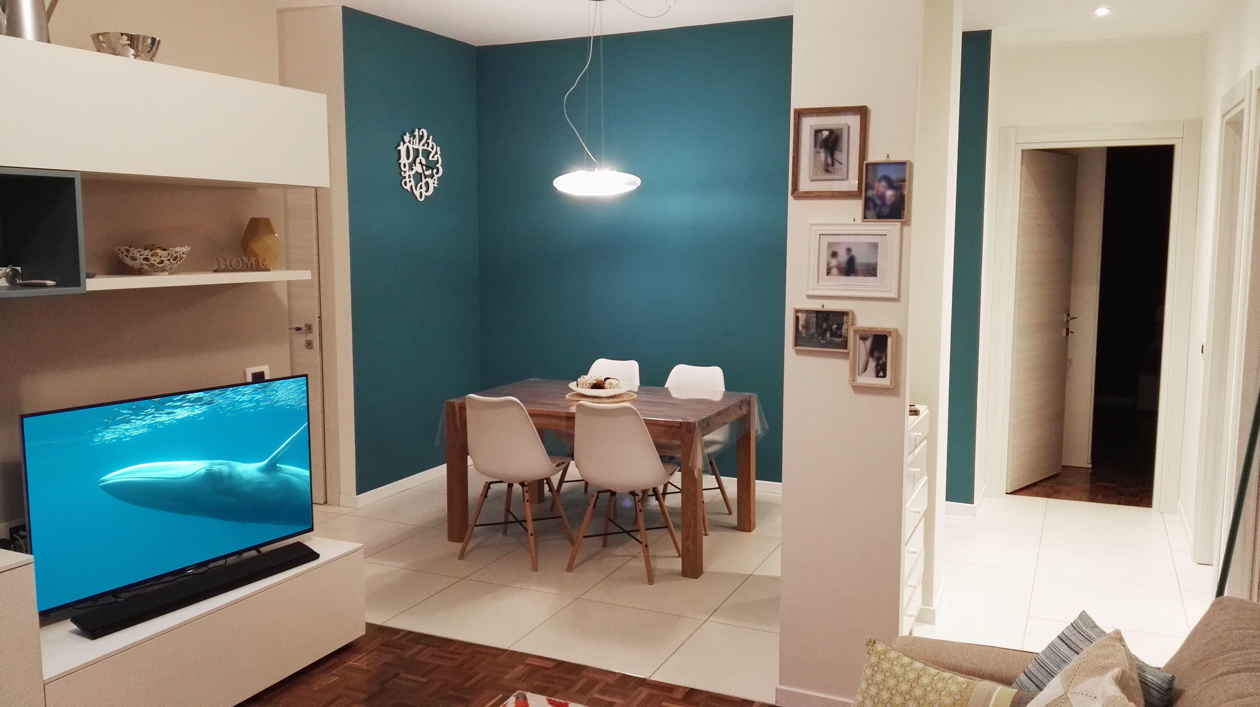 Arredamento Color Petrolio inaspettato: il colore blu petrolio per le pareti (con