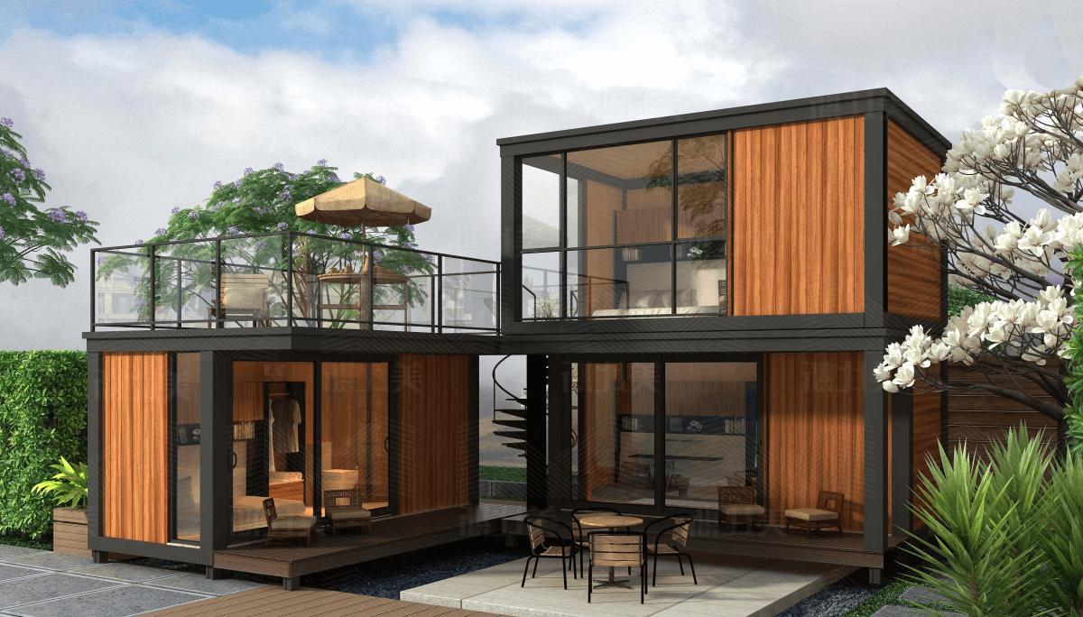 Container Haus Ideen 12   Containerhäuser, Schiffscontainer haus ...