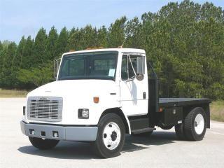 Used Freightliner Fl60 Medium Duty Flatbed Truck For Sale In Georgia Mcdonough Us 12 500 Flatbed Trucks For Sale Trucks For Sale Trucks