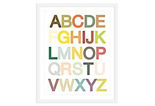 ModernPOP, Alphabet Print