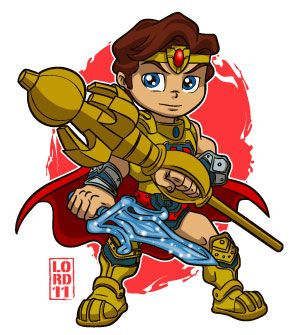 Lil He-Ro by lordmesa on DeviantArt