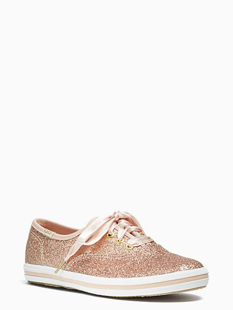 d186cb0600a9ce Keds Kids X Kate Spade New York Champion Glitter Youth Sneakers ...