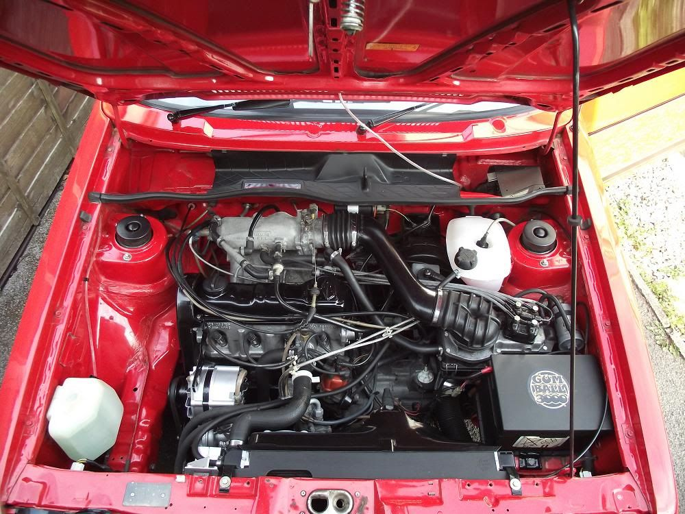 view topic lets see your engine bay the mk1 golf. Black Bedroom Furniture Sets. Home Design Ideas