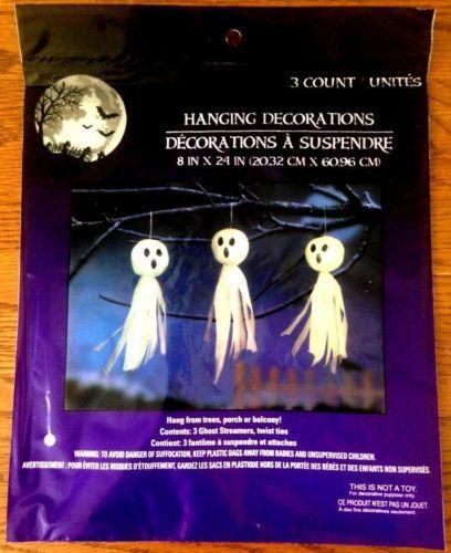 Halloween-Party-Outdoor-Prop-Decorations-Ghosts-Hanging-On-Trees-8 - outdoor ghosts halloween decorations