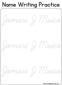 Name in cursive ideas in 2021