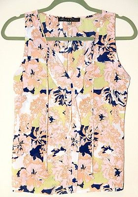 Nautical Lilly Pulitzer Inspired Woman S Blouse Tank Top Rose Olive