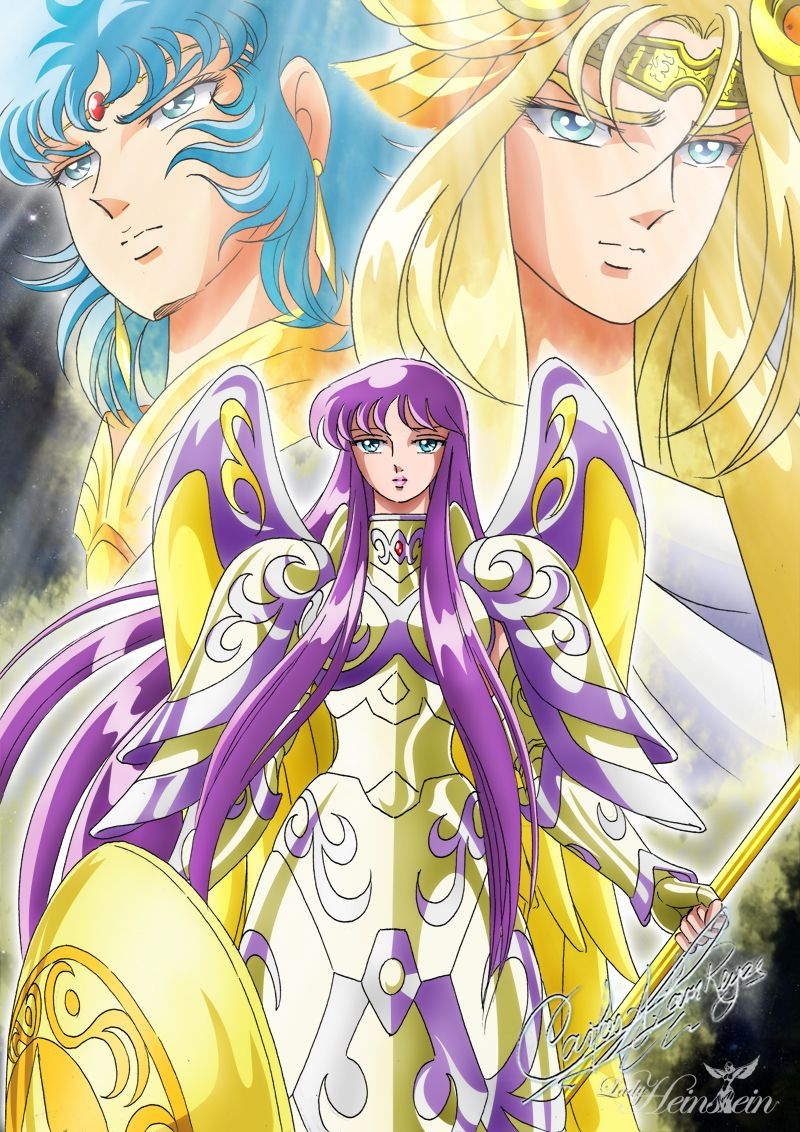 Zeus Chapter II par LadyHeinstein | Anime: Saint Seiya