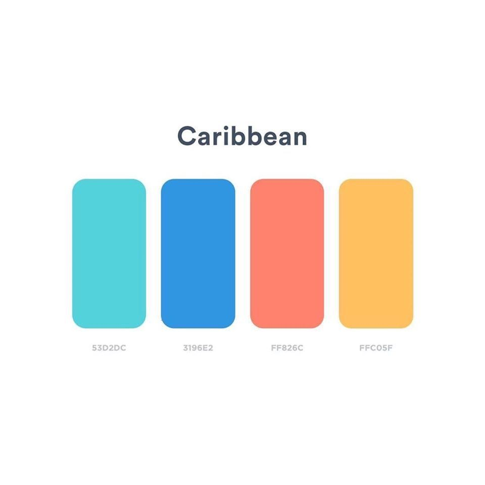 Caribbean by XS Multimedia in 2020 | Color palette ...