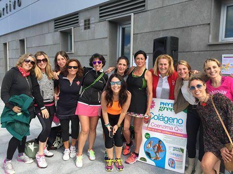 Gran fin de semana en el I torneo benéfico de pádel femenino por Derick, en Boadilla del Monte (Madrid) :) #Phytogreen #Nutridx
