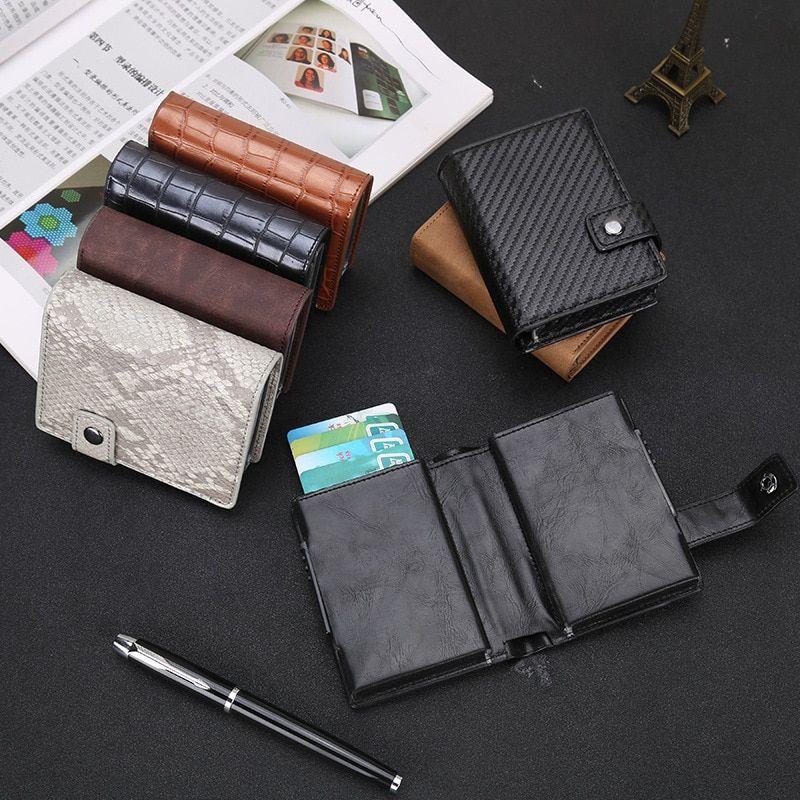Stylish Card Holder Slim Bank Credit Card ID Card Holder Case Bag Wallet Holder