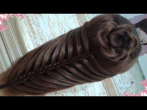Peinados recogidos faciles para cabello largo bonitos y - Peinados fiesta faciles ...