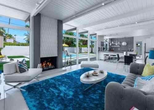 Déco salon gris et blanc  28 modèles élégants House
