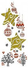 Christmas Border Embroidery - Machine Embroidery Designs