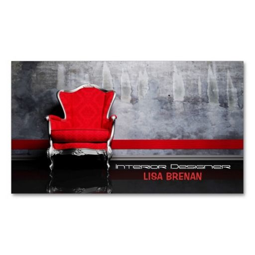 Interior Designer Red Chair Room Decor Living Home