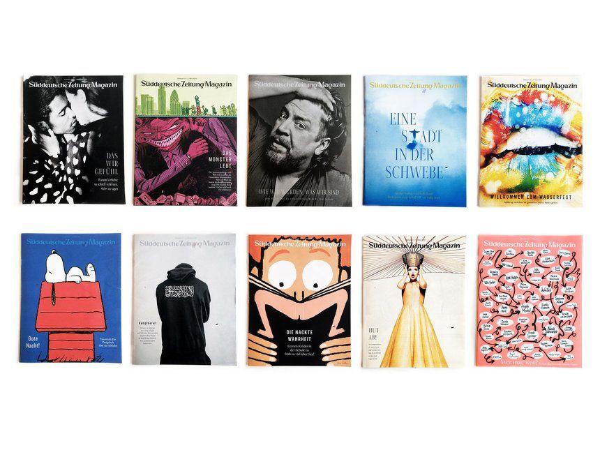 Süddeutsche Zeitung Magazine | Newspaper Supplement Magazine Cover Design Inspiration | Award-winning Magazine & Newspaper Design | D&AD