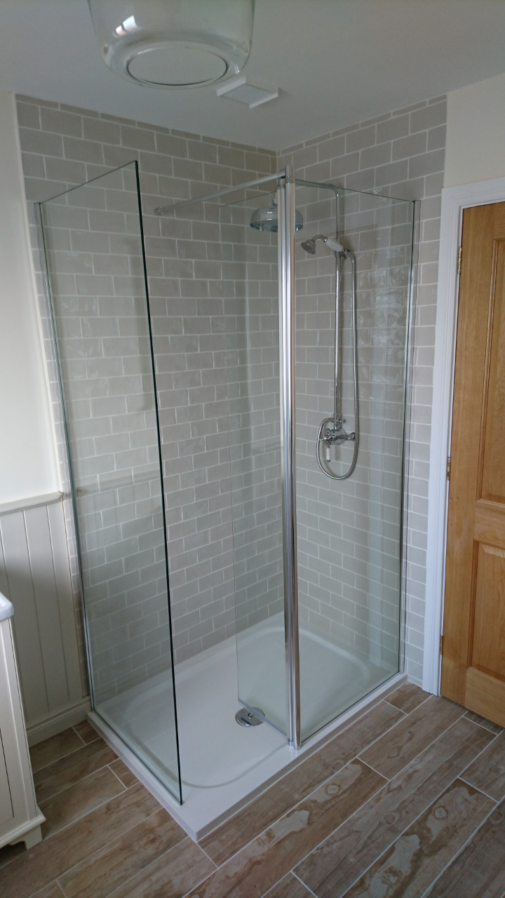 Flooring, Tiling, Shower and Enclosure all by the Kitchens Direct NI ...