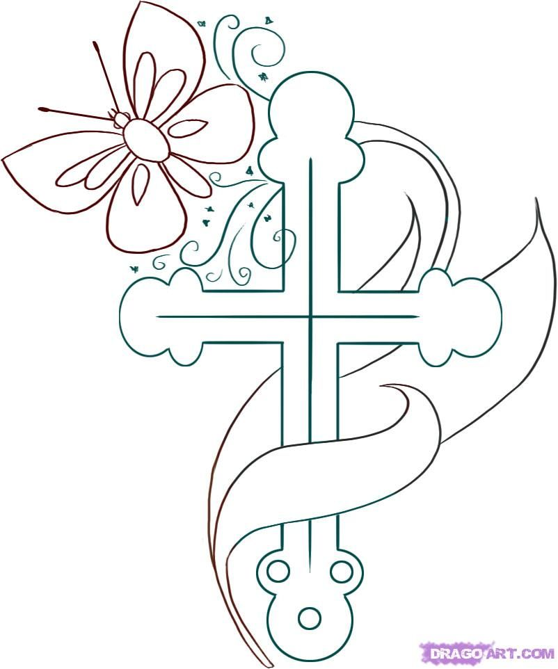 christian stuff coloring pages - photo#14