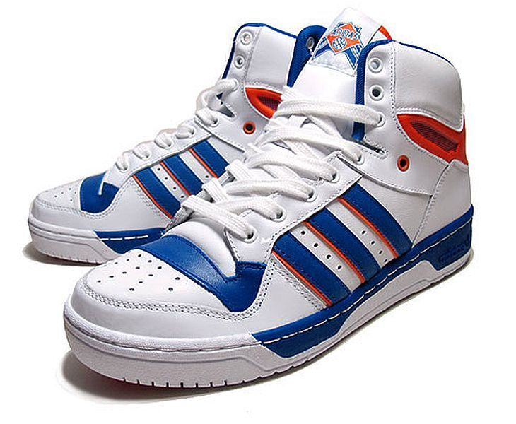 ADIDAS ORIGINALS ATTITUDE HI = SIZE 10 = NY KNICKS MEN'S