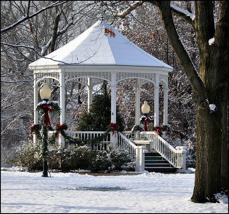 The Gazebo House Gazebo Outdoor Christmas Holiday