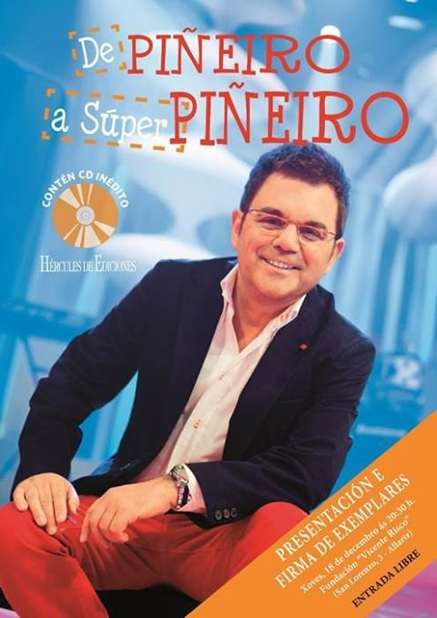 Presentación 'De Piñeiro a Superpiñeiro' en Fundación Vicente Risco, Allariz (Ourense)