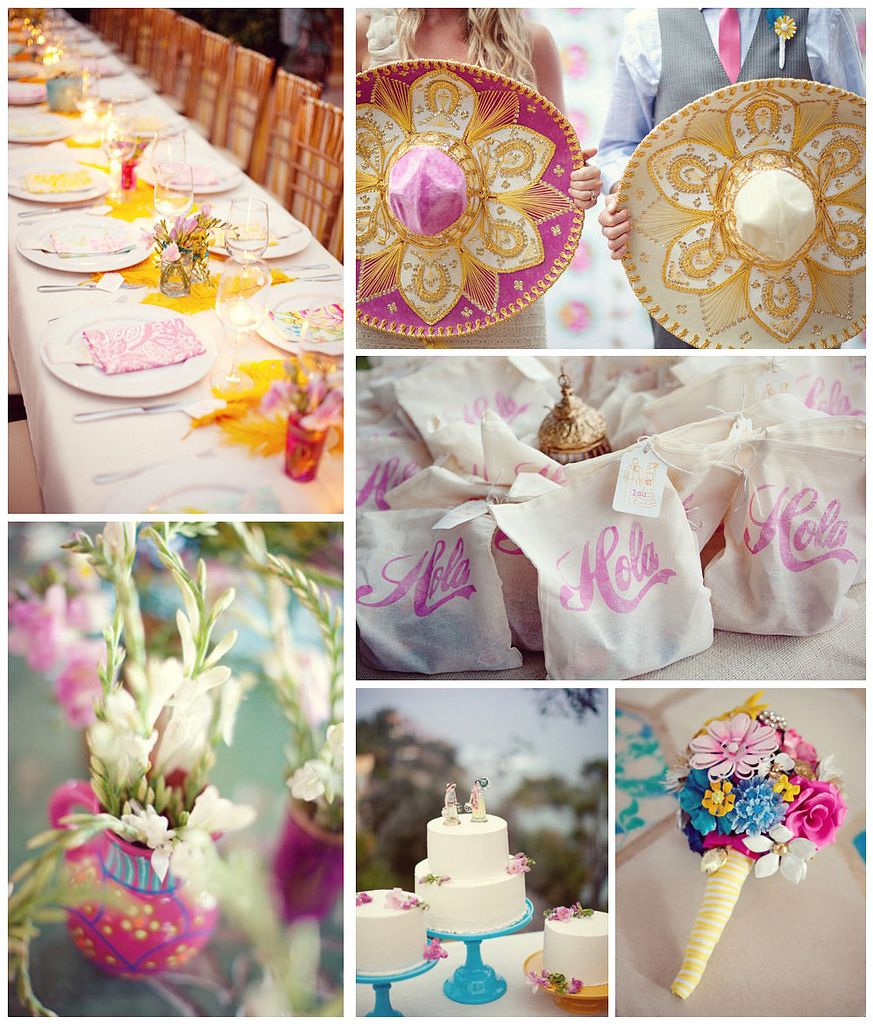 Mexican Themed Weddings, Inexpensive
