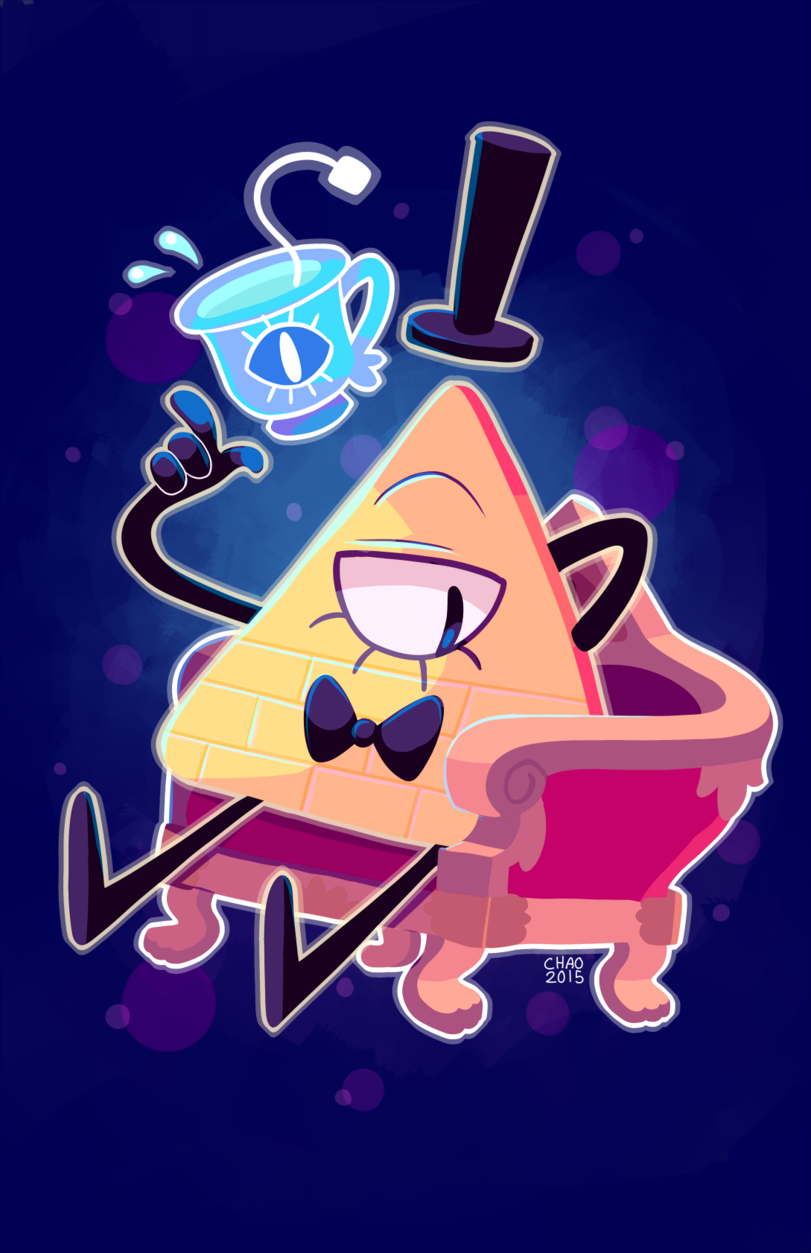 Every time I see triangle, I think of Bill Cipher