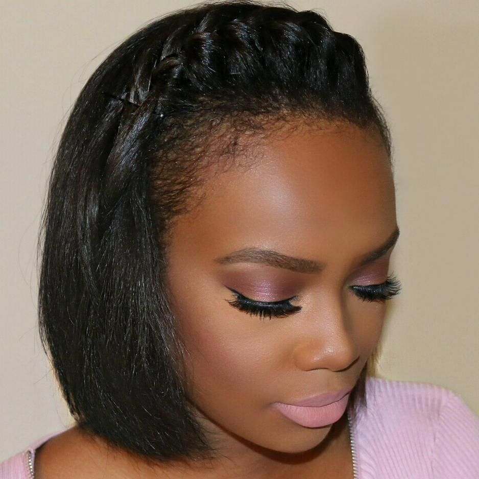 bobsshortgirlhairstyles  natural hair styles short hair