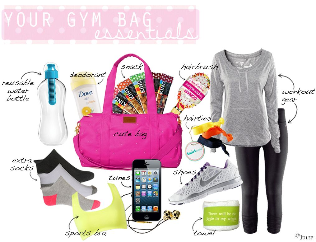 Gym bag essentials: What to have in your gym bag at all times