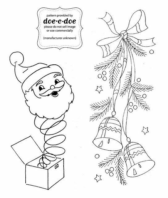 xmas-sample-5   Bordado navidad, Bordado y Navidad