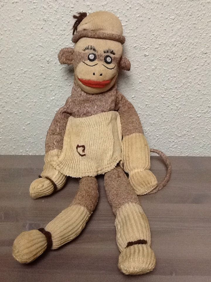 Share your Sock puppy toy vintage what necessary