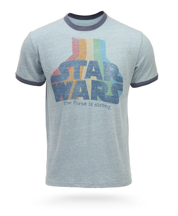 StarWars Retro Ringer t-shirt from @ThinkGeek - A long time ago in ...