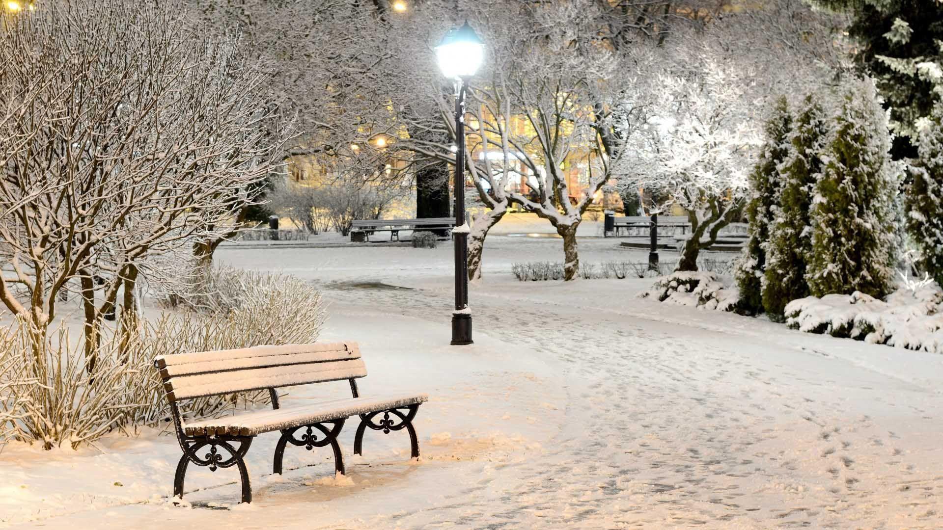 Central Park Bench In The Snow Google Search Winter Wonderland Wallpaper Winter Wallpaper Winter Scenery