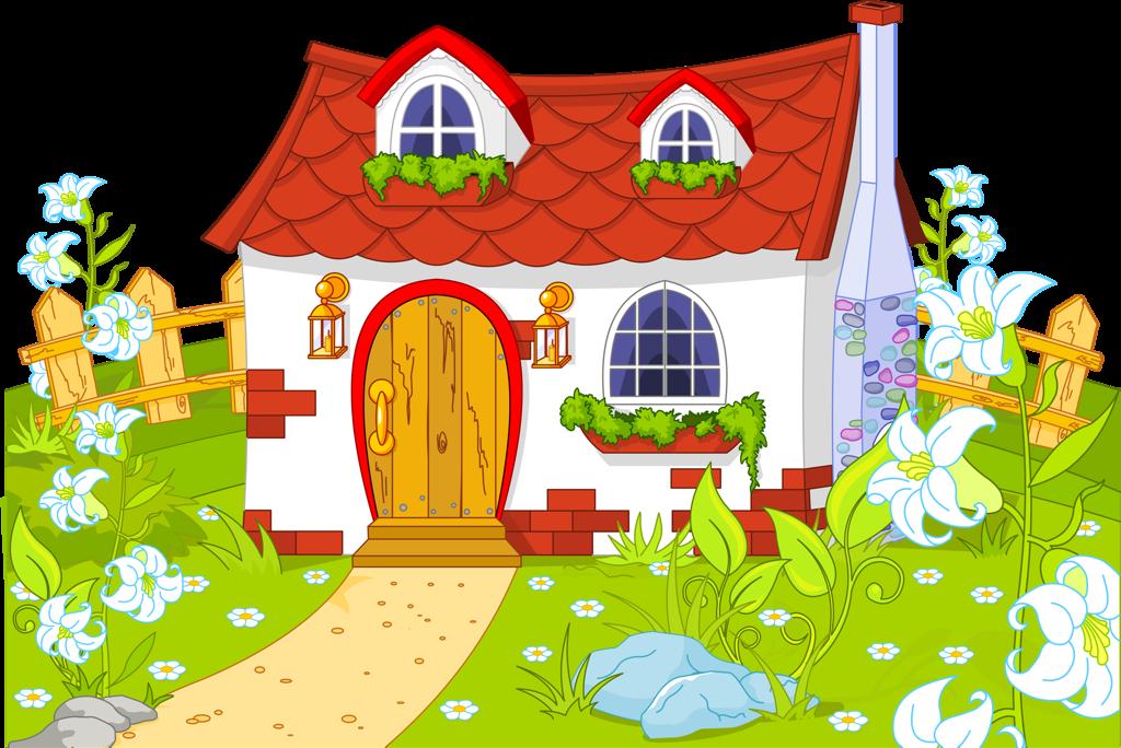 Детские картинки о доме