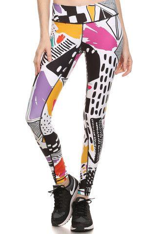 90's Thrift Dream Leggings - POPRAGEOUS  - 1