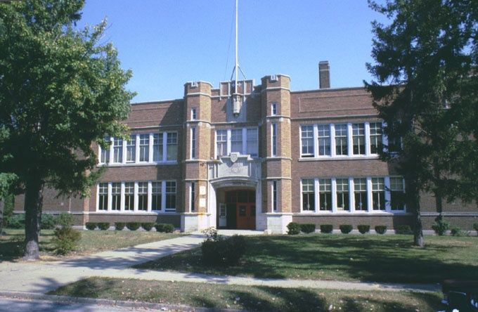 Us Grant Elementary School Royal Oak Mi Demolished In The 1970 S At Irving And 5th Street Royal Oak House Styles Elementary Schools