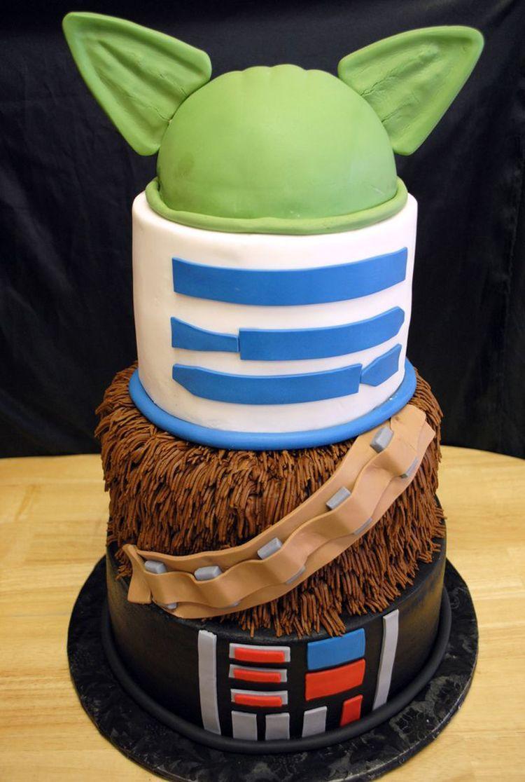Starwars Cake   Google Search