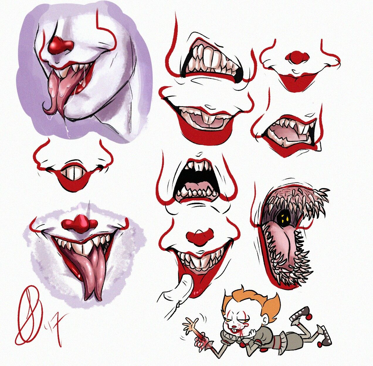 The Many Mouths Of It Stephen Kings It Pennywise Tattoo