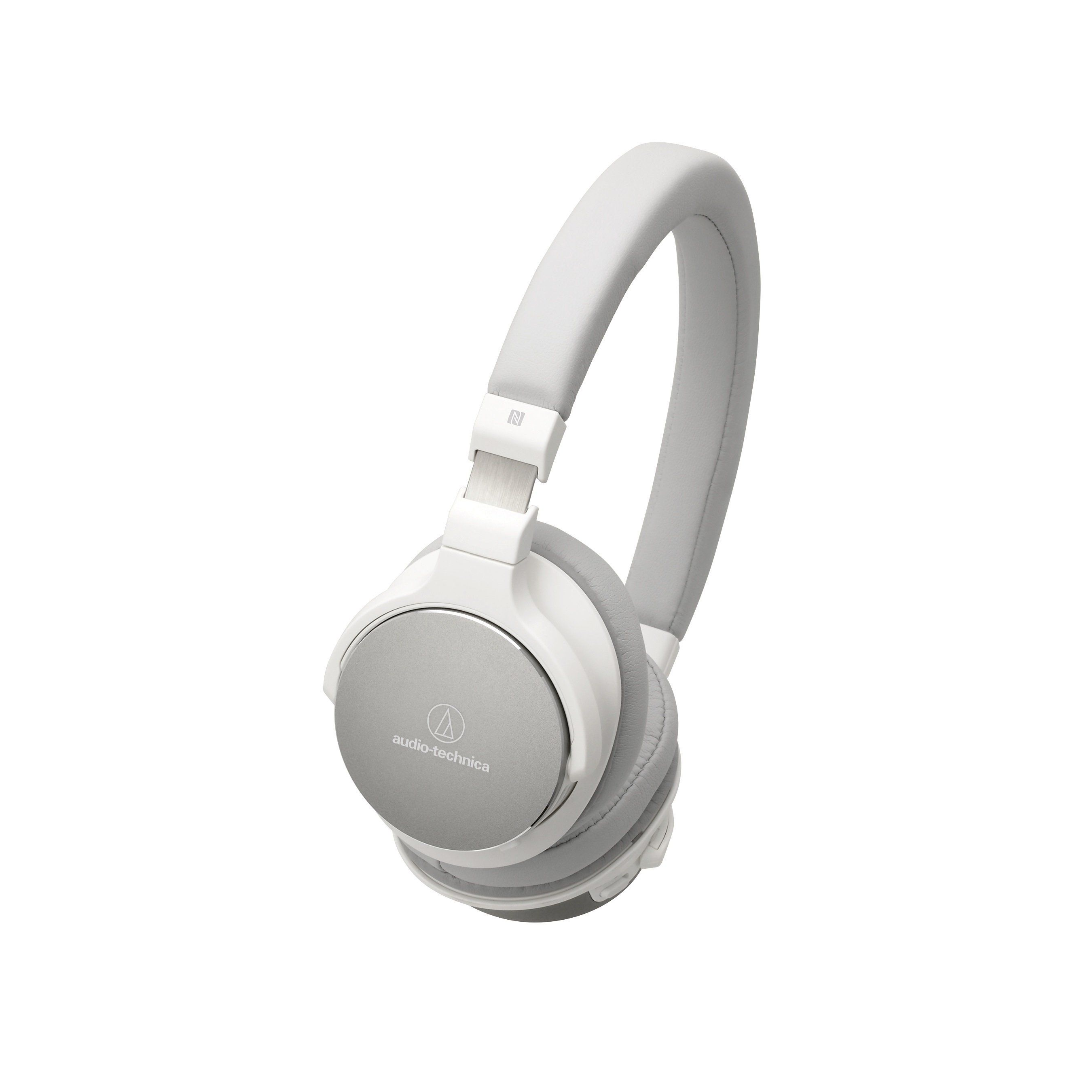 Audio Technica ATH-SR5BTWH Wireless On-Ear High-Resolution Audio Headphones- White #audioheadphones