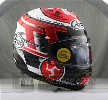 dd0eaa86 Arai RX-7V Limited Edition Isle of Man TT 2016 | helmets | Custom ...