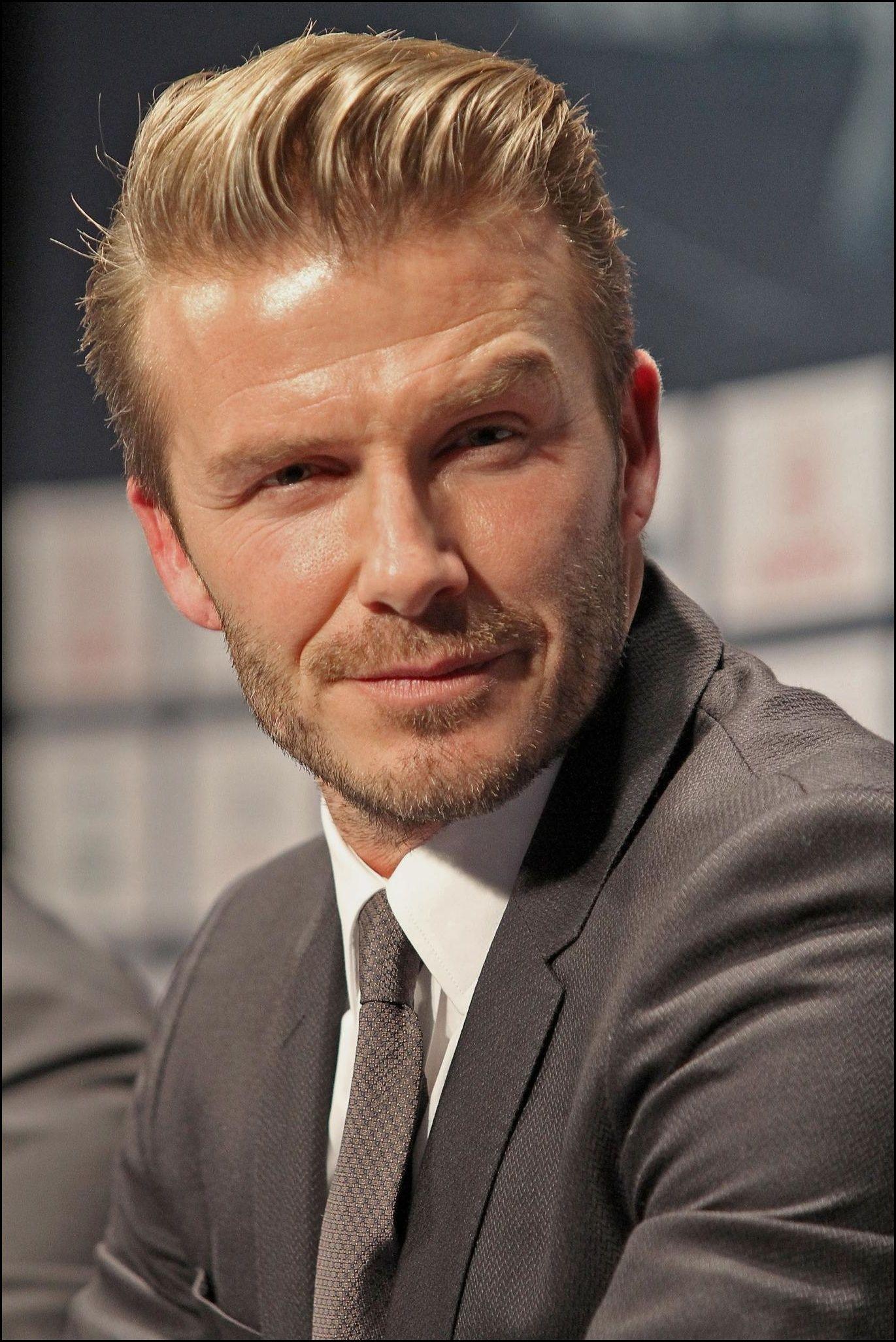 15 David Beckham Frisur Ideen Fur Manner Beckham