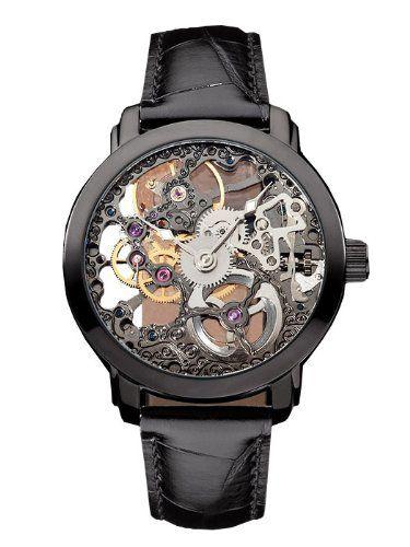 488b7d6efd0 M. Johansson NikalaLBB3 Men s Mechanical (hand winding) Full Skeleton Wrist  Watch. WANT.