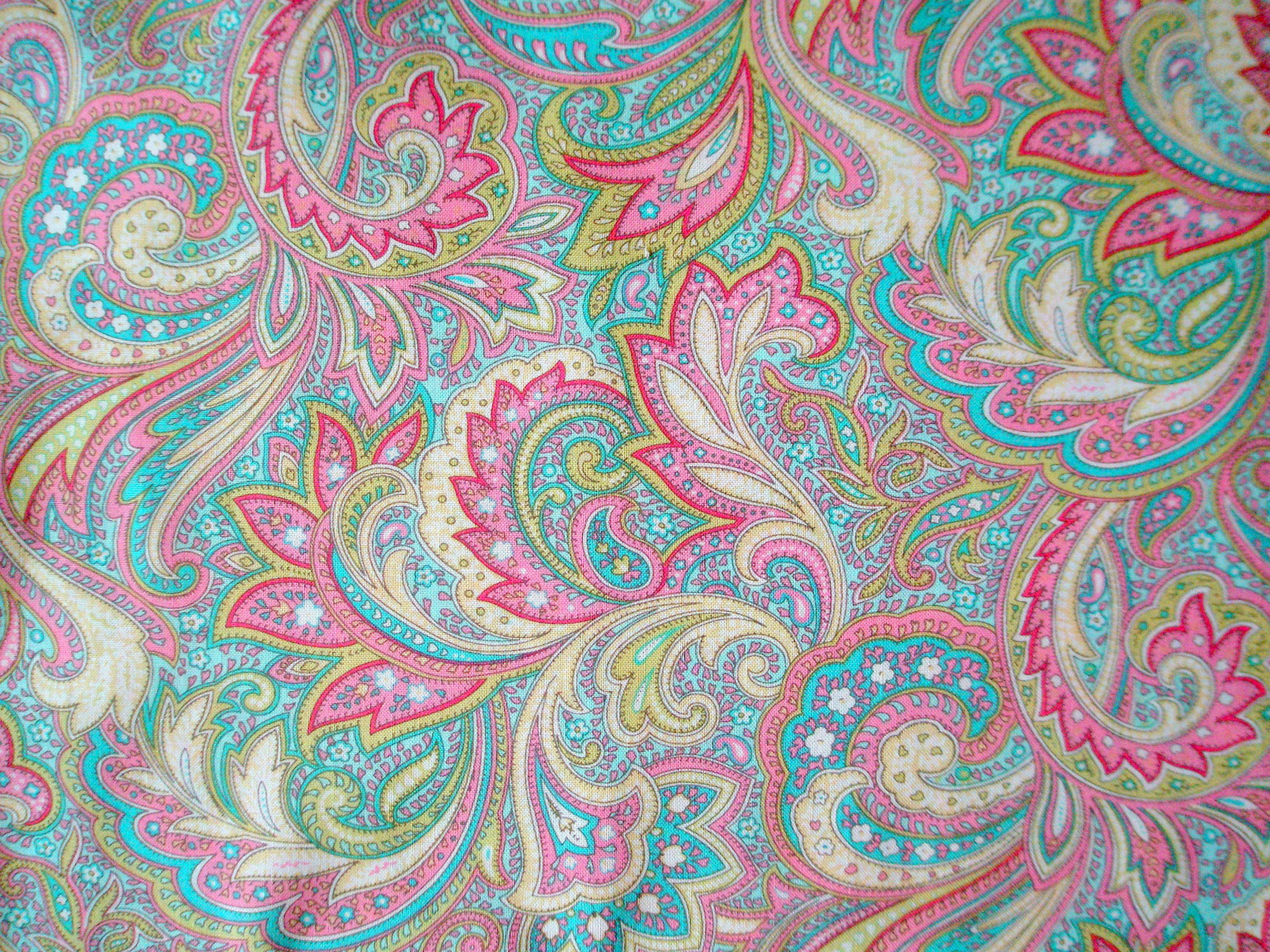 Blue Paisley Fabric Google Search More